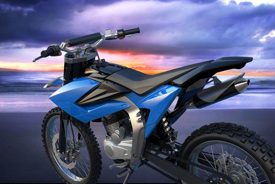 motorcycle-rendering